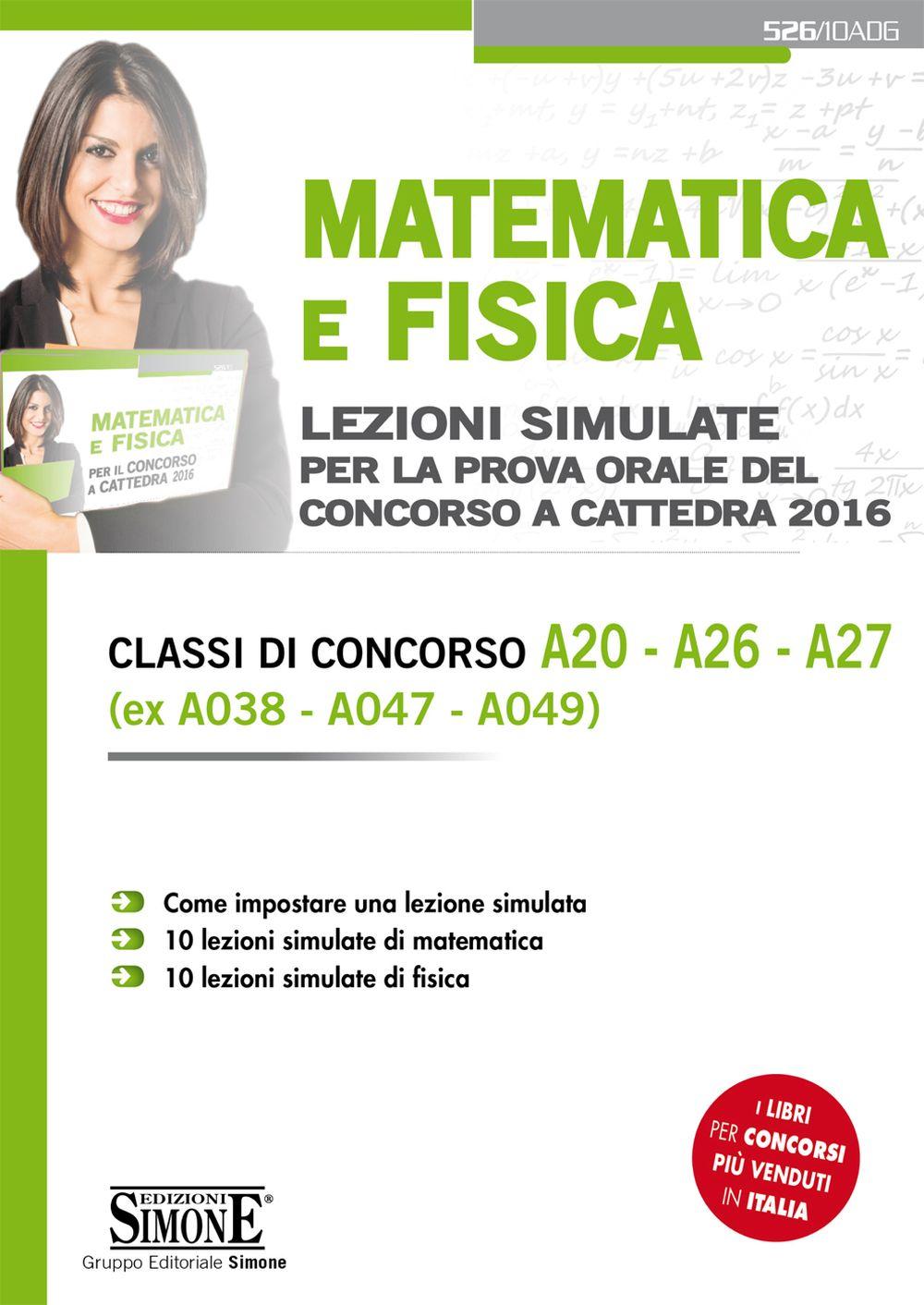 Ebook Matematica e Fisica prova orale