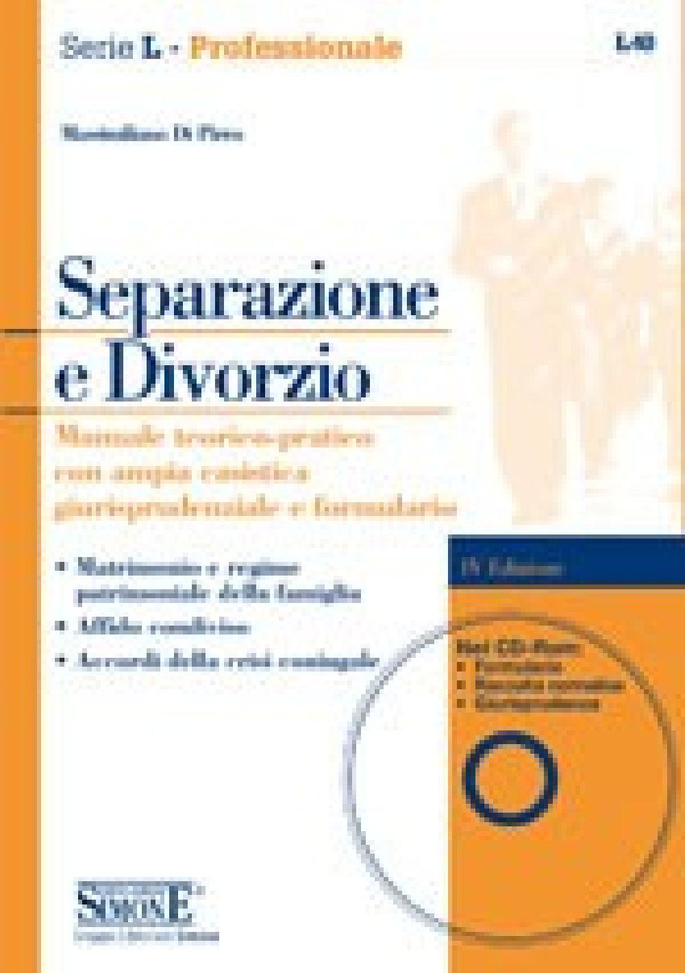 Separazione E Divorzio Edizioni Simone