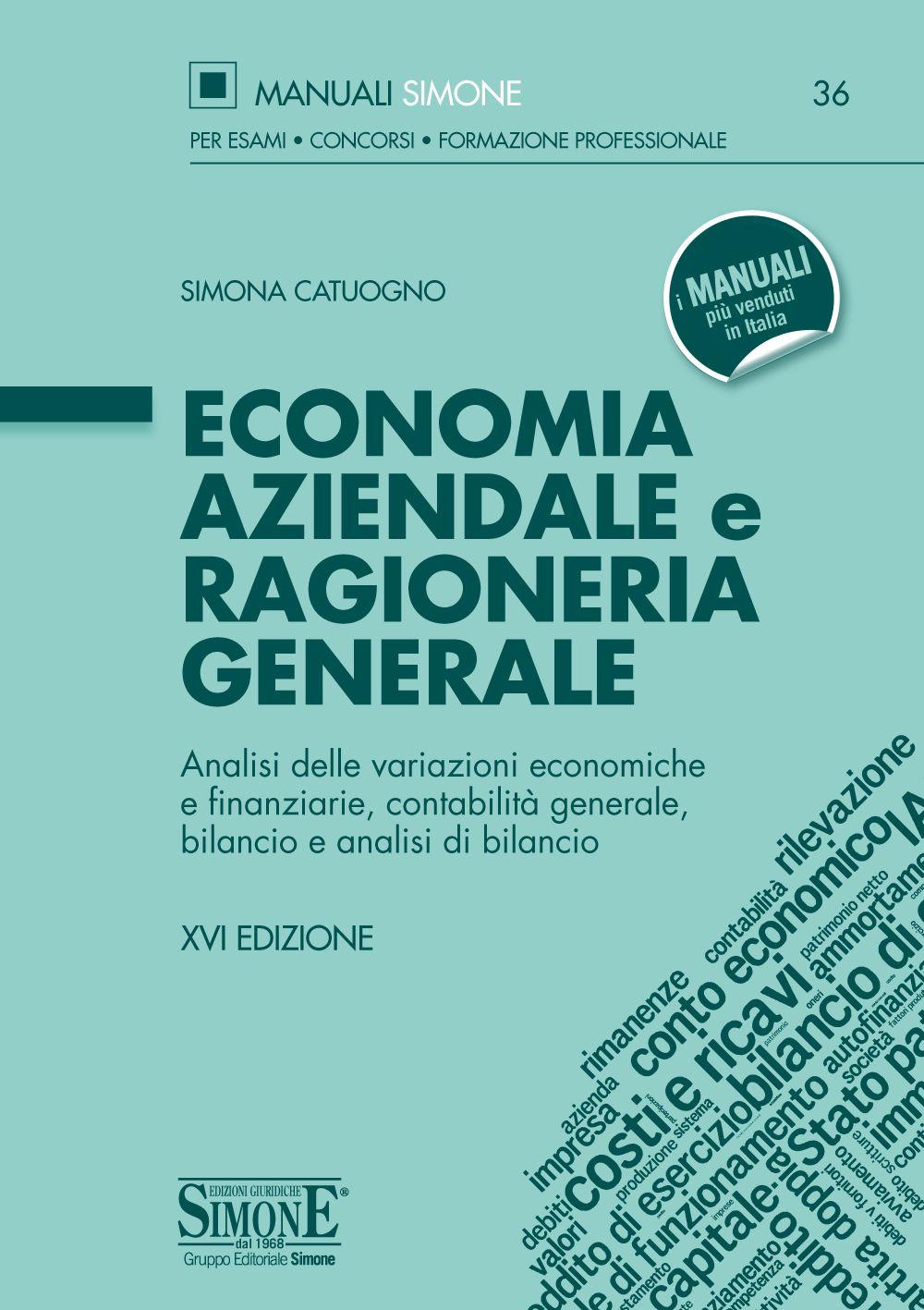 Manuale di Economia aziendale e Ragioneria generale