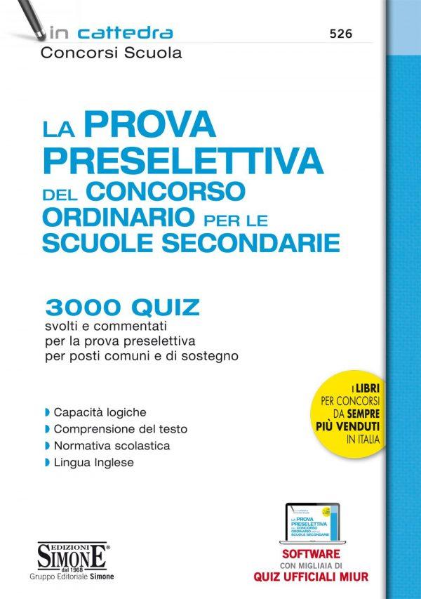 Manuale Prova preselettiva Concorso Scuola