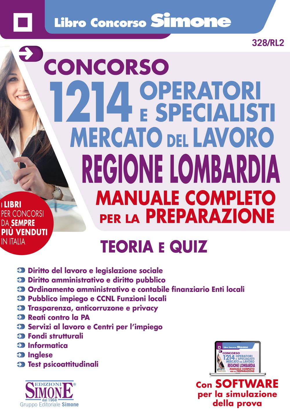 Manuale Concorso Regione Lombardia