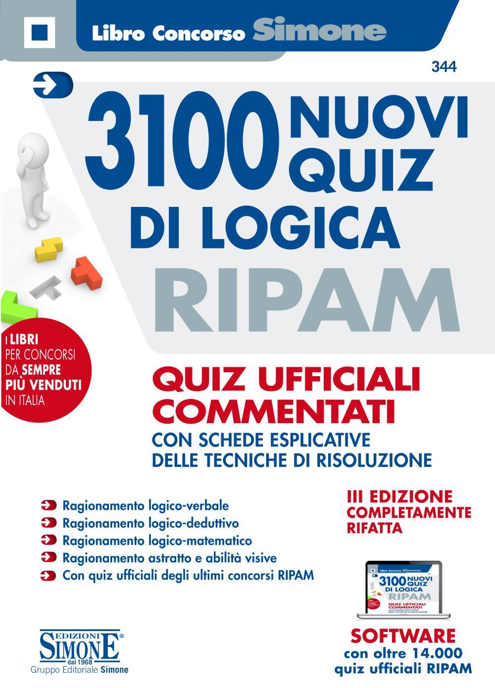 Libro nuovi quiz Ripam