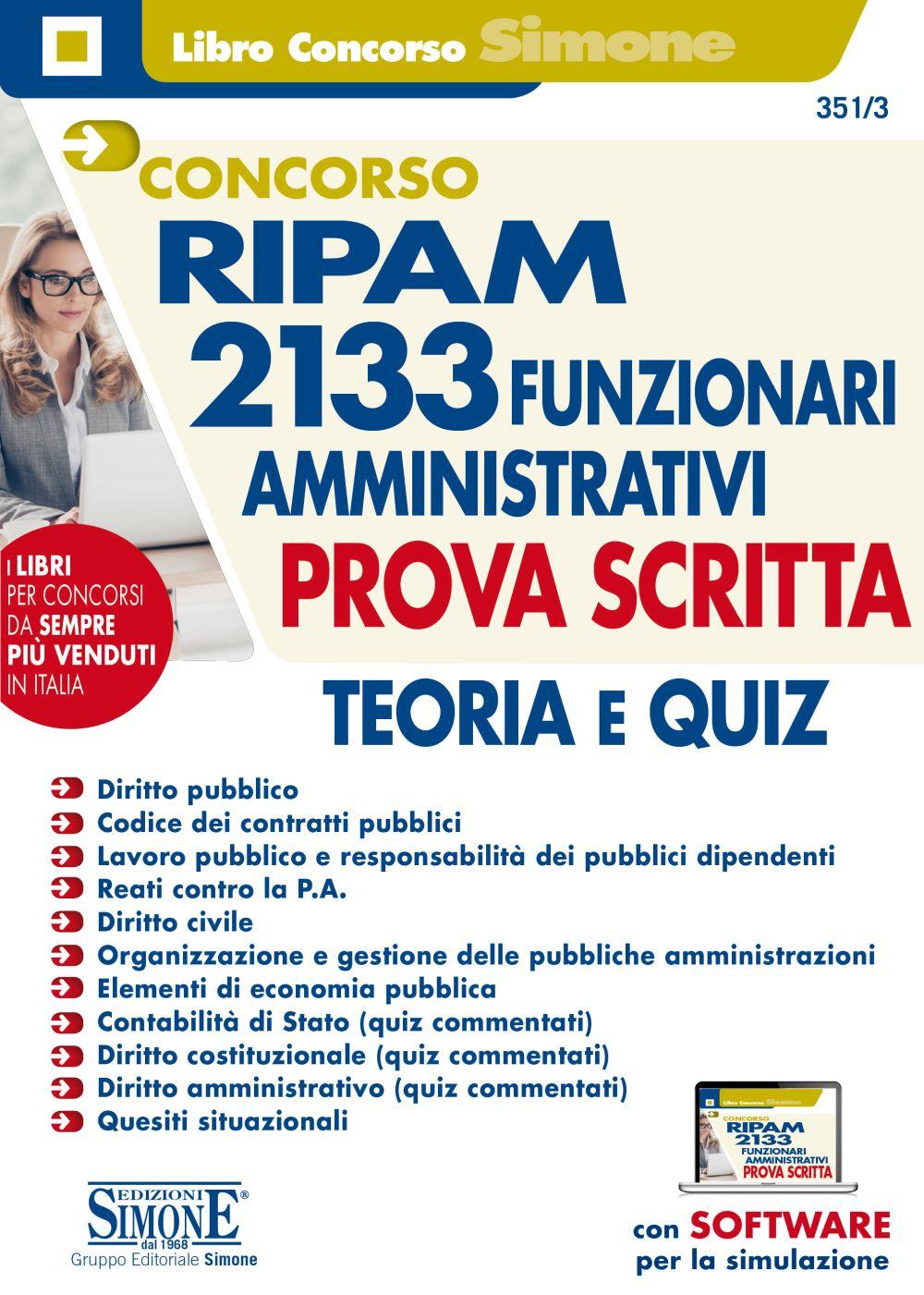 Manuale Concorso RIPAM 2133 Funzionari amministrativi