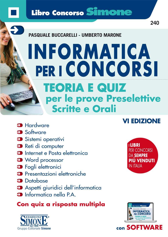 libro di Informatica per i concorsi