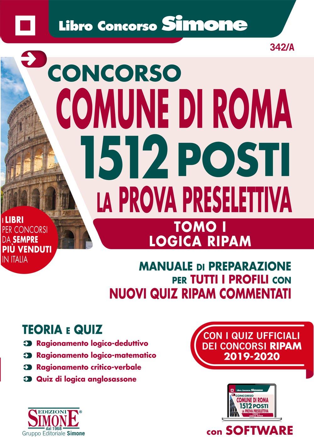 Libro Concorso Comune di Roma