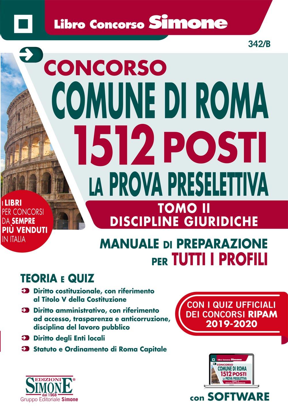 Manuale Concorso Comune Roma