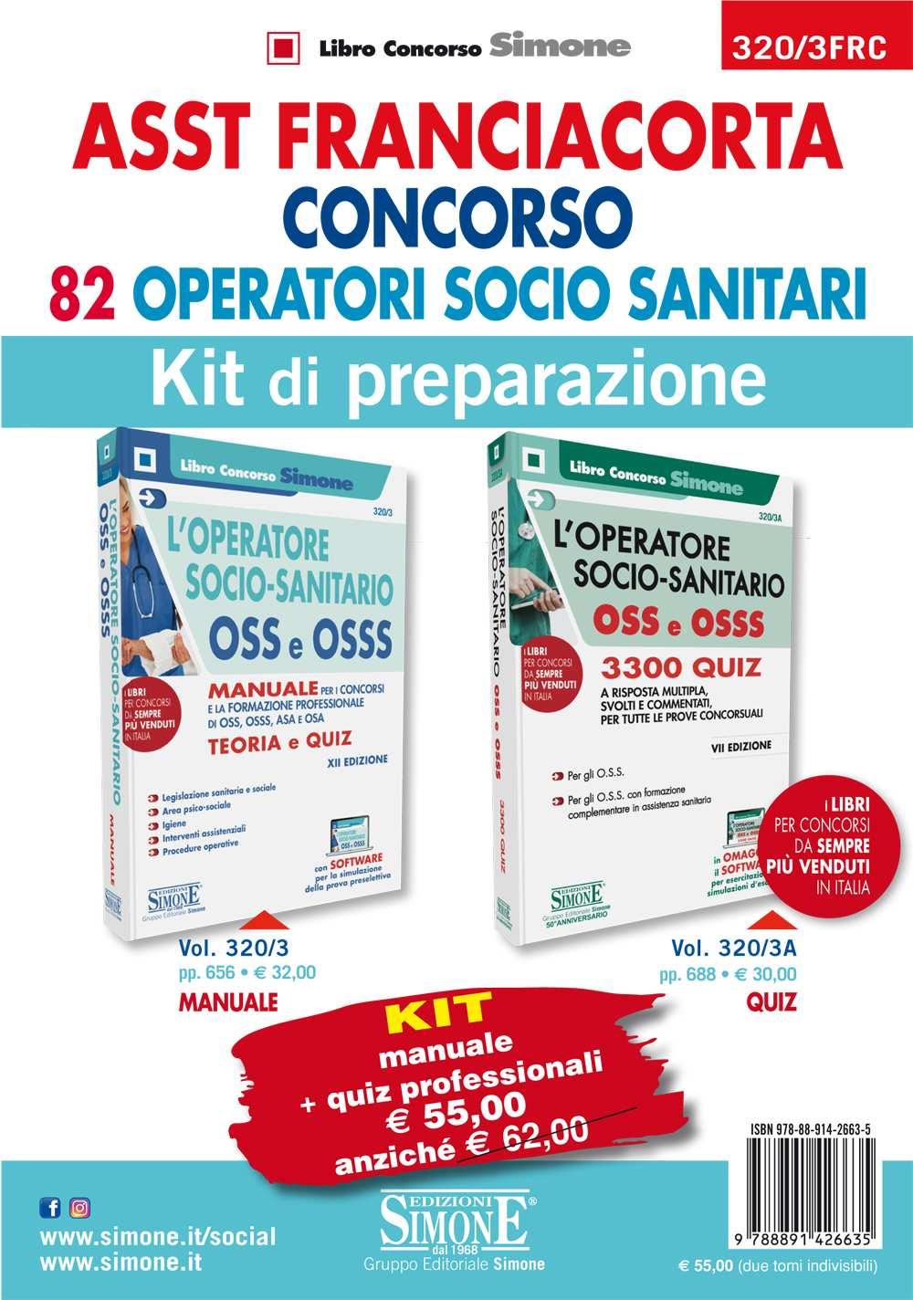Libro concorso ASST Franciacorta OSS
