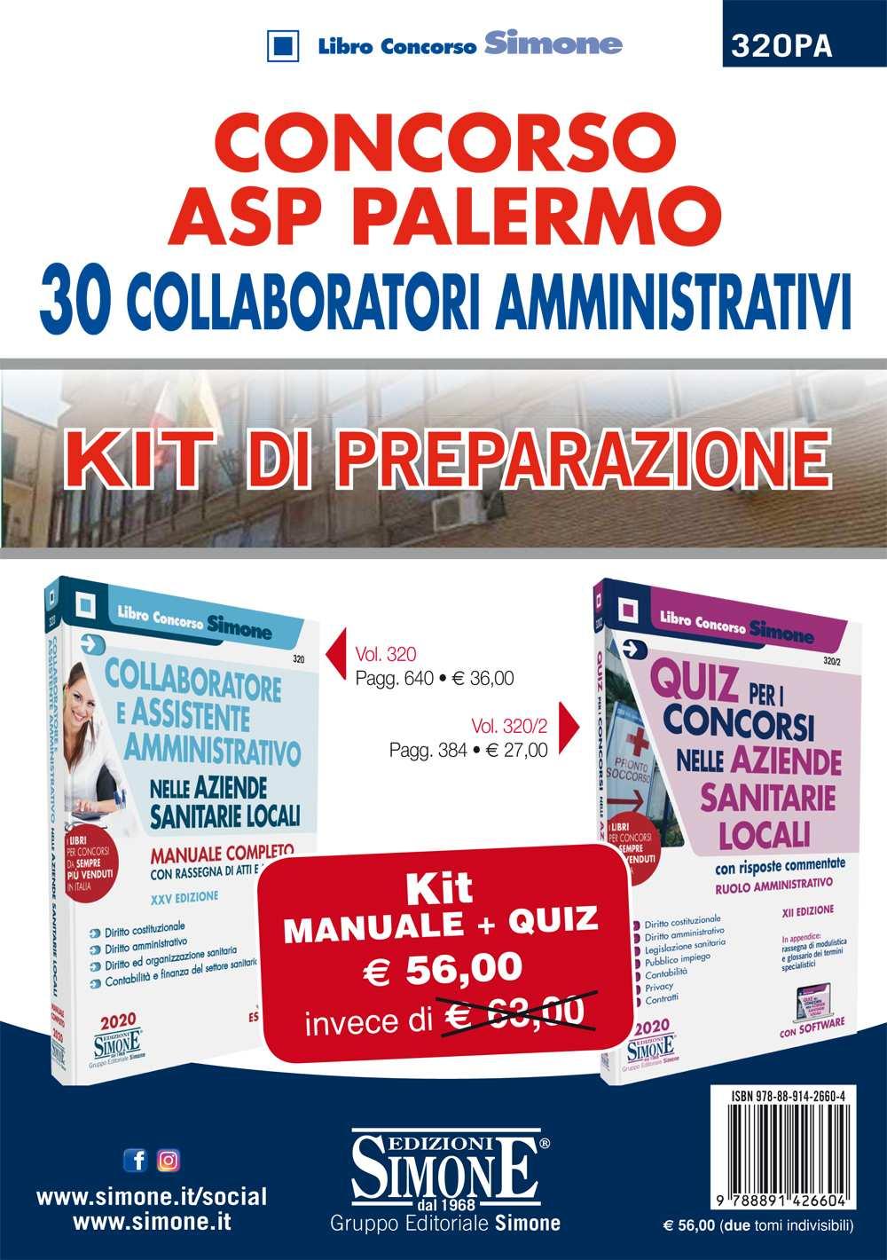 KIT di preparazione Concorso ASP Palermo