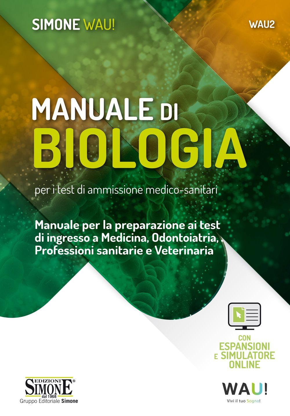 Test ingresso Biologia 2020