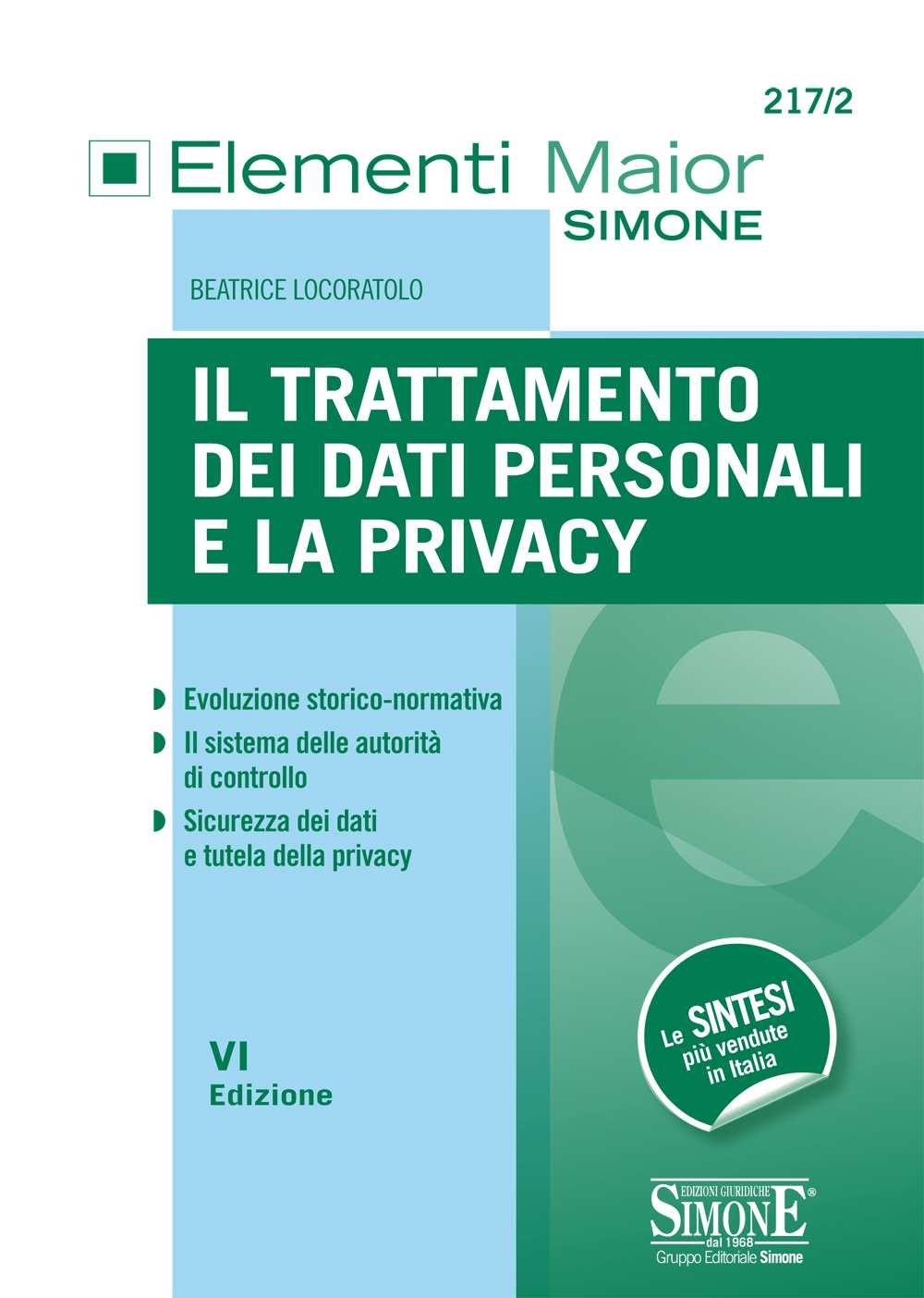 Trattamento dei dati personali e la Privacy