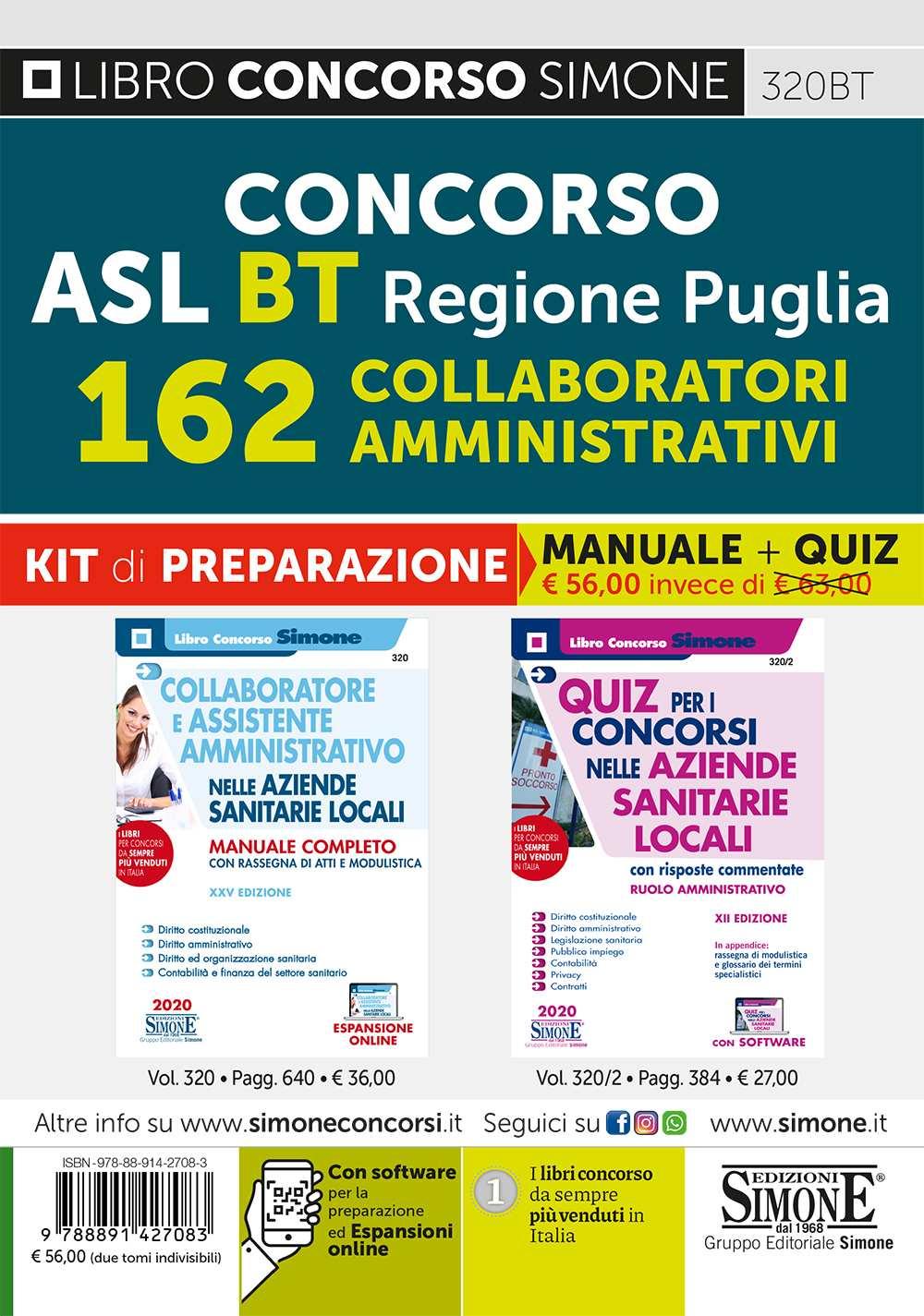Concorso ASL Regione Puglia