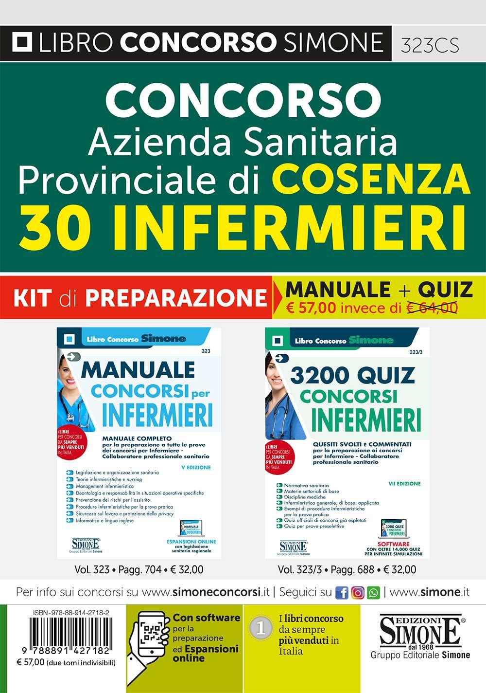 Concorso Infermieri ASP Cosenza