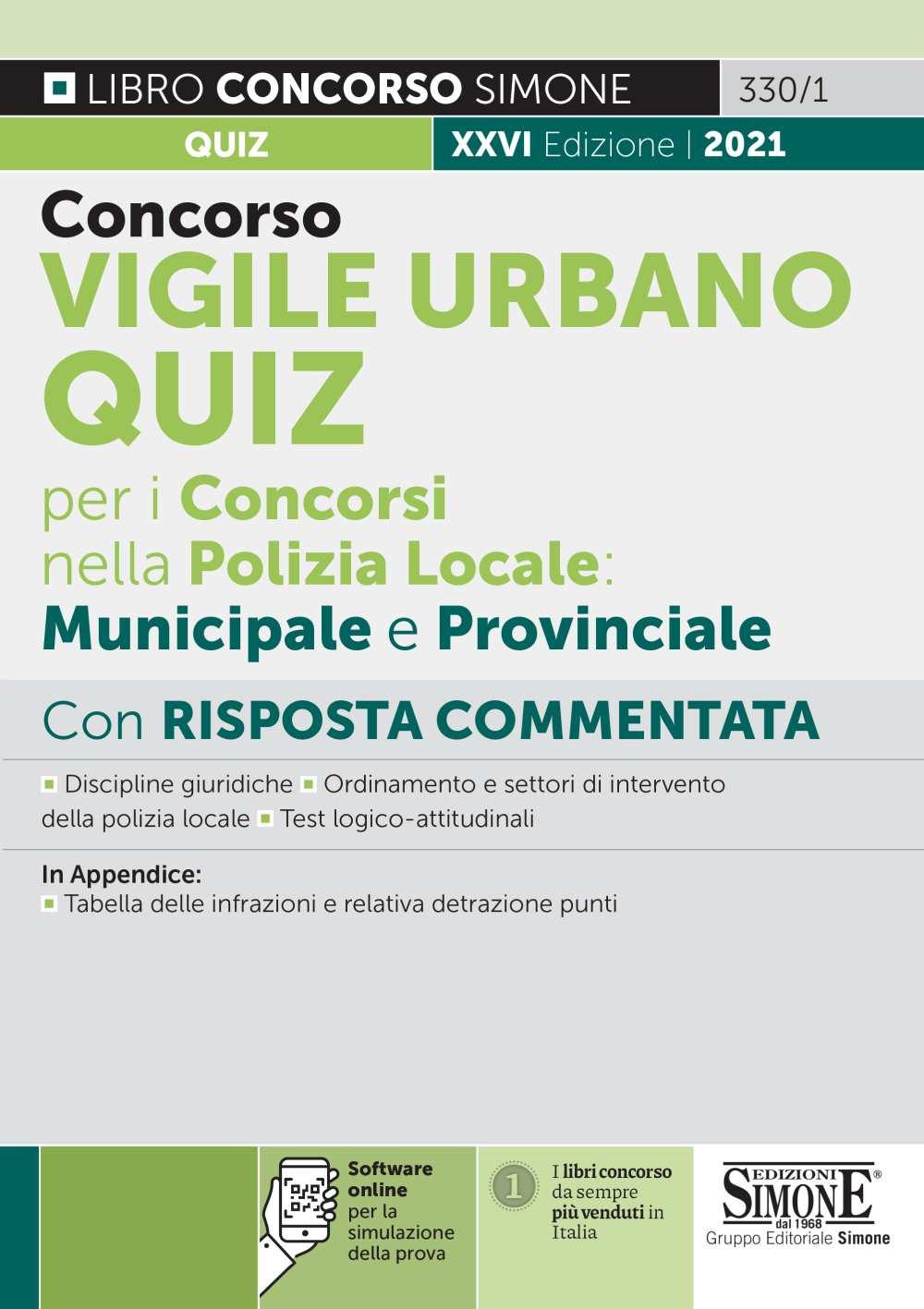 Concorso Vigile Urbano Quiz