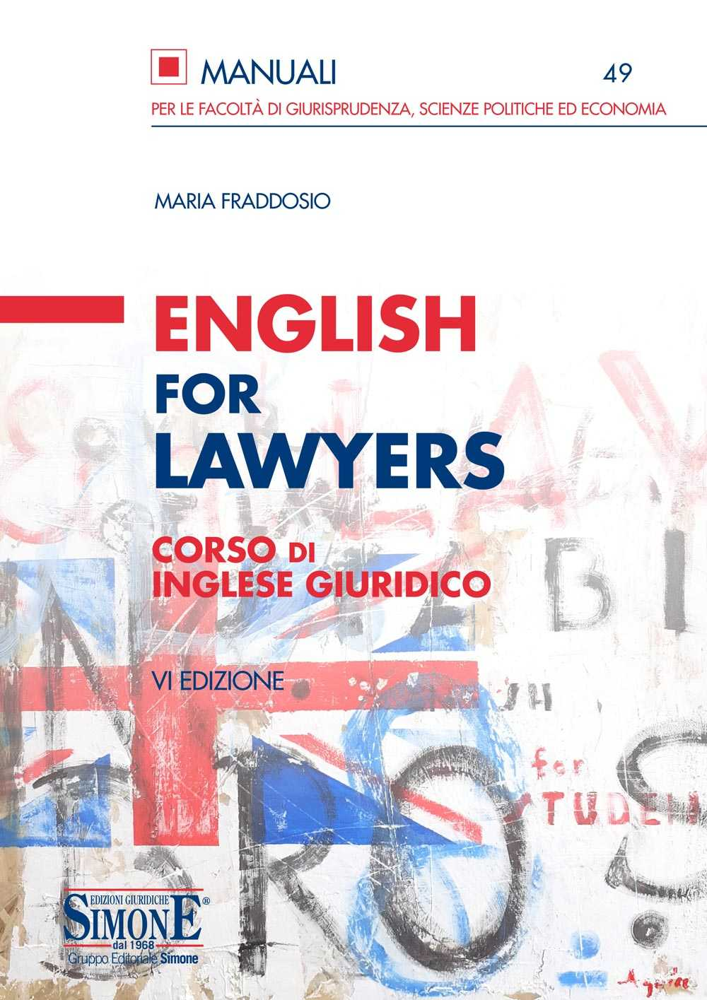 Libro English for Lawyers