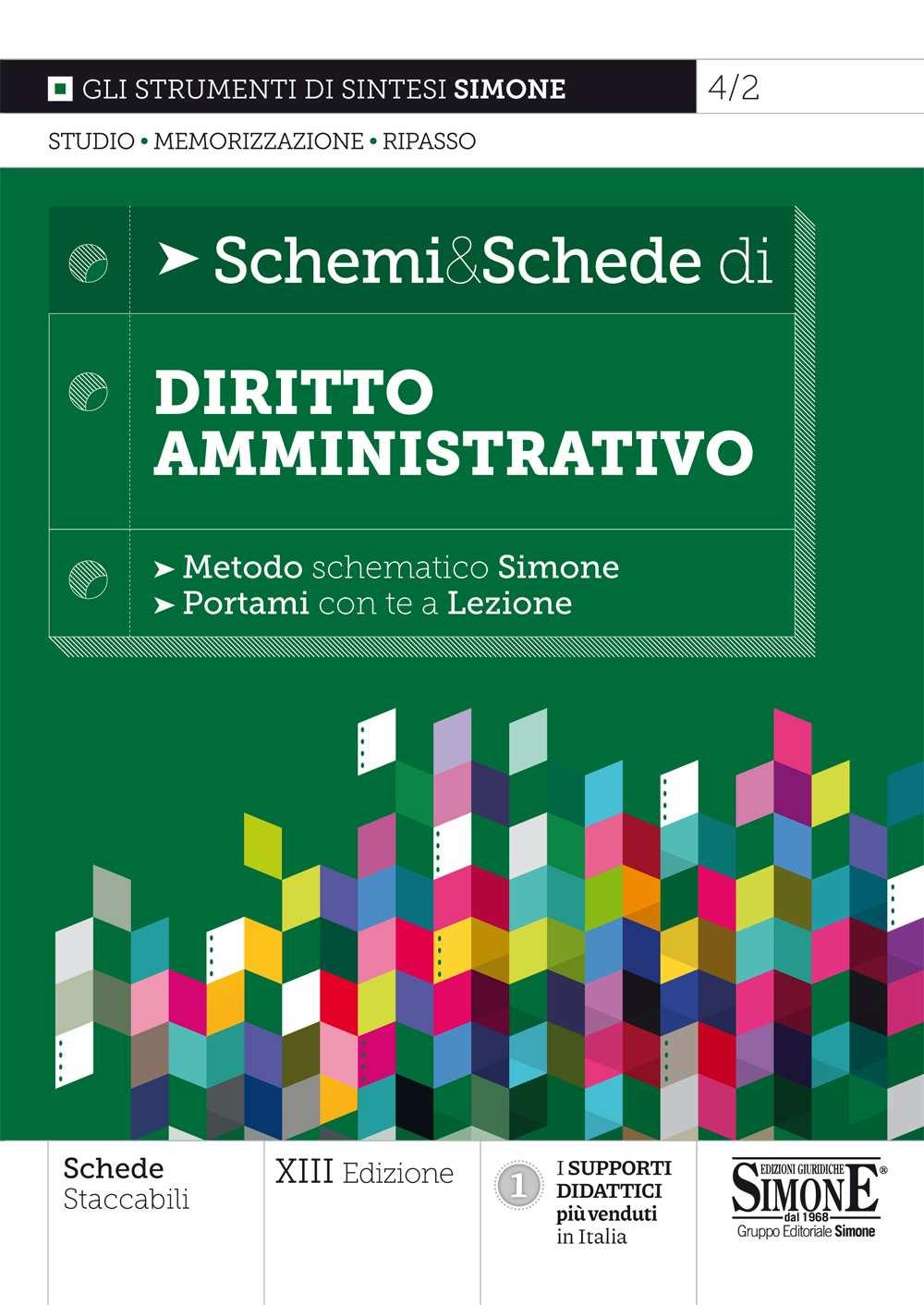 Schemi e Schede di Diritto Amministrativo