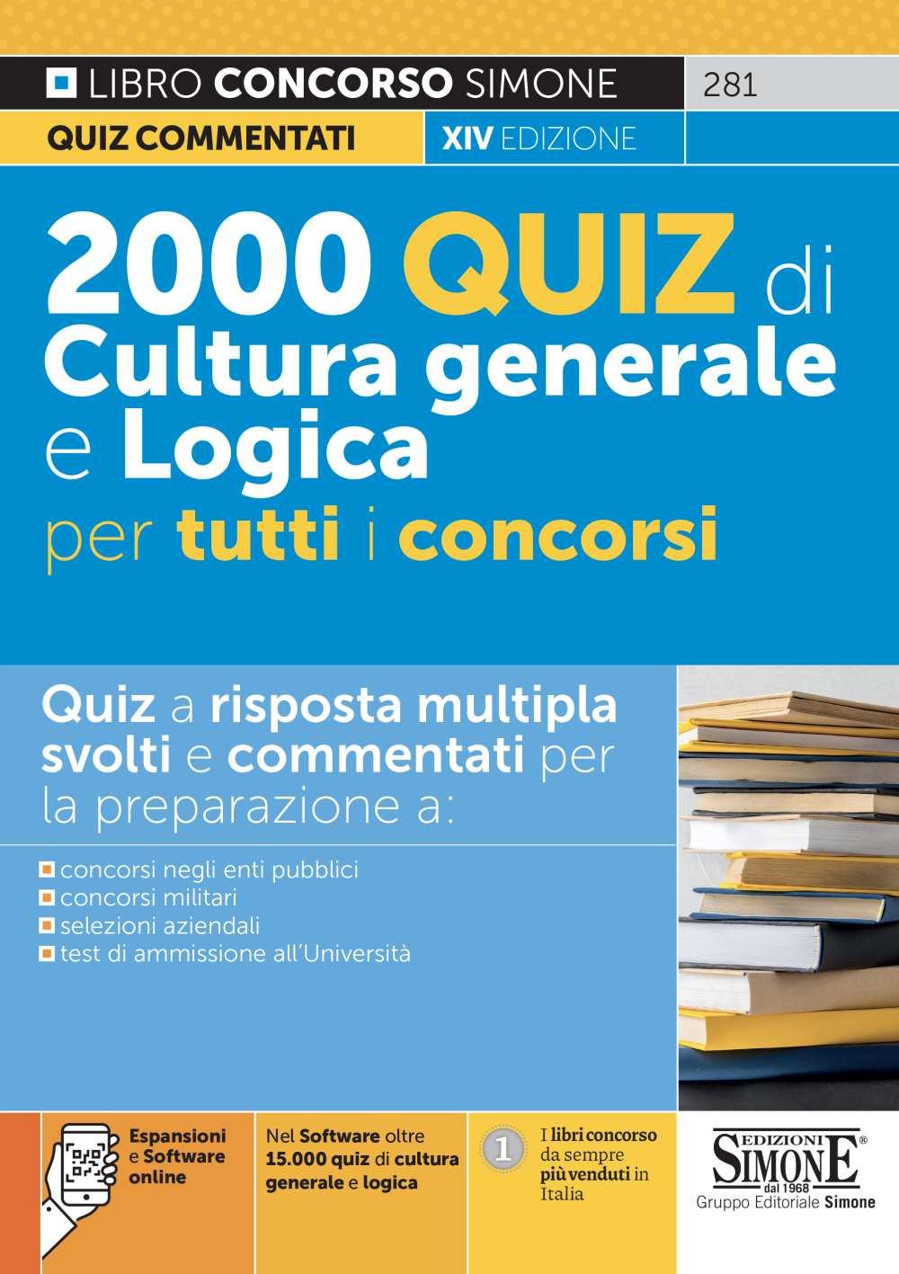 Quiz di Cultura generale per concorsi