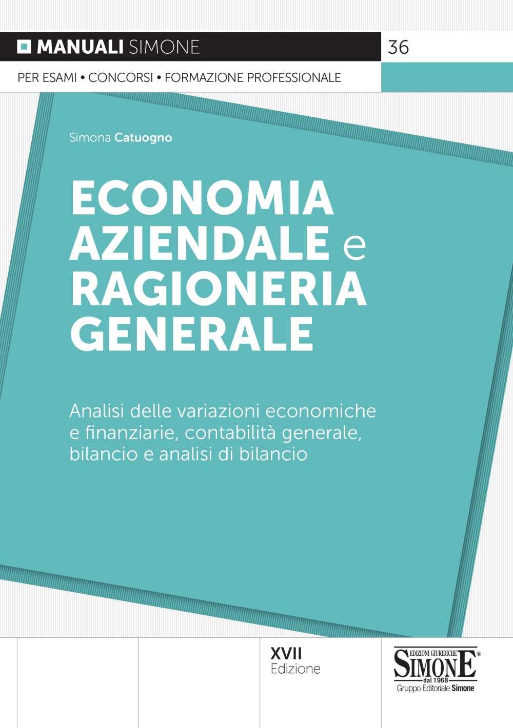 manuale di Economia Aziendale e Ragionaria Generale