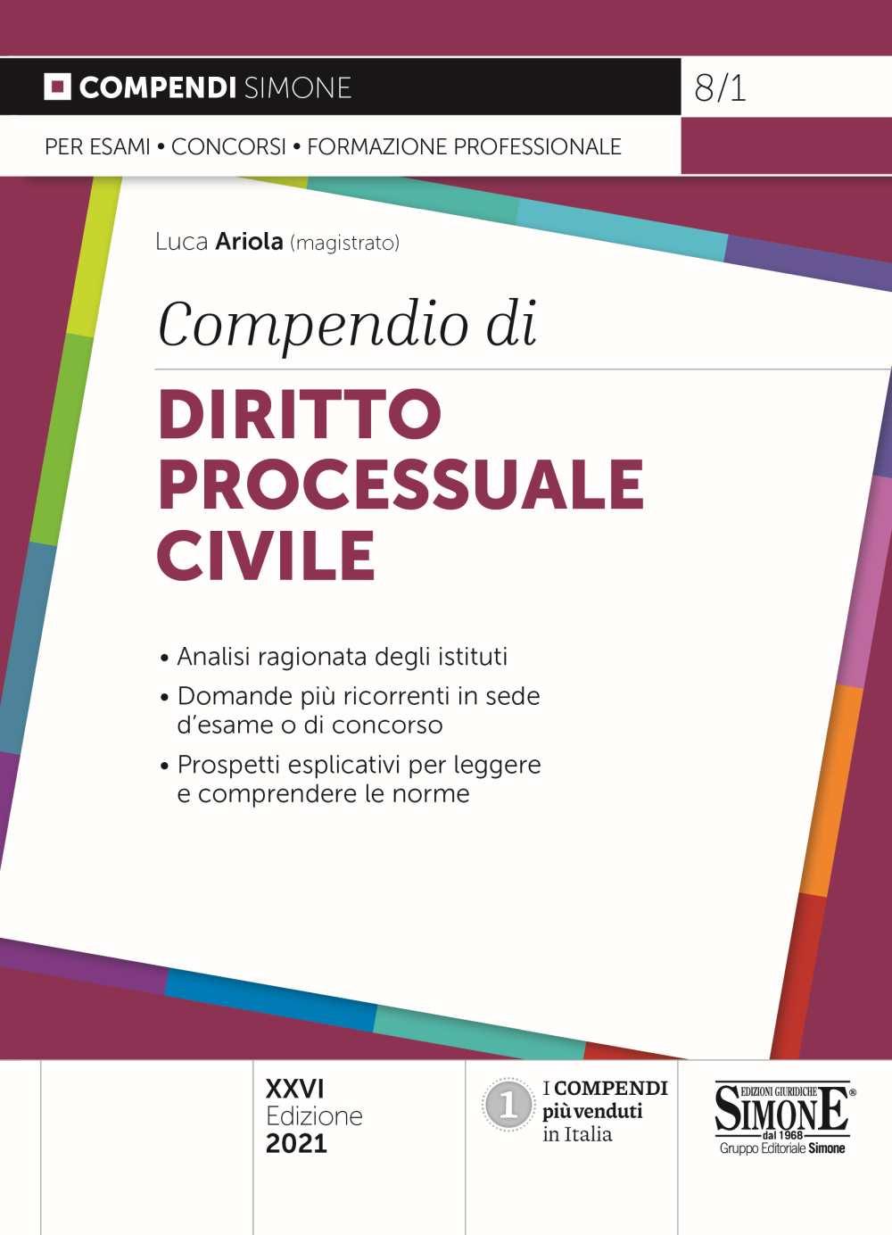 Compendio Diritto Processuale Civile