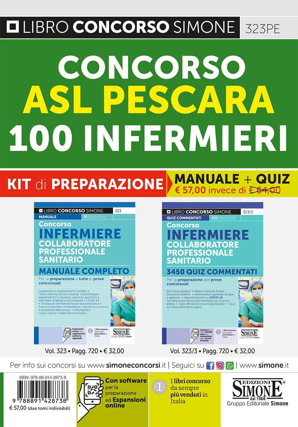 Concorso infermieri ASL Pescara