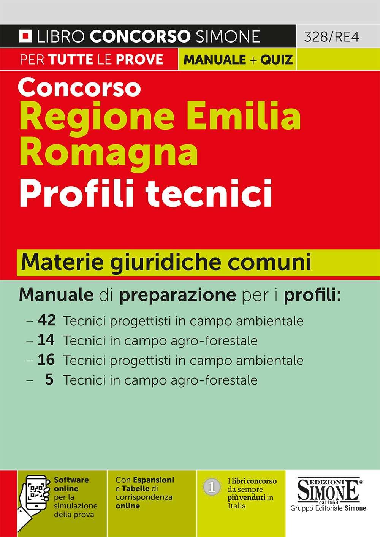 Concorso Regione Emilia Romagna Profili tecnici