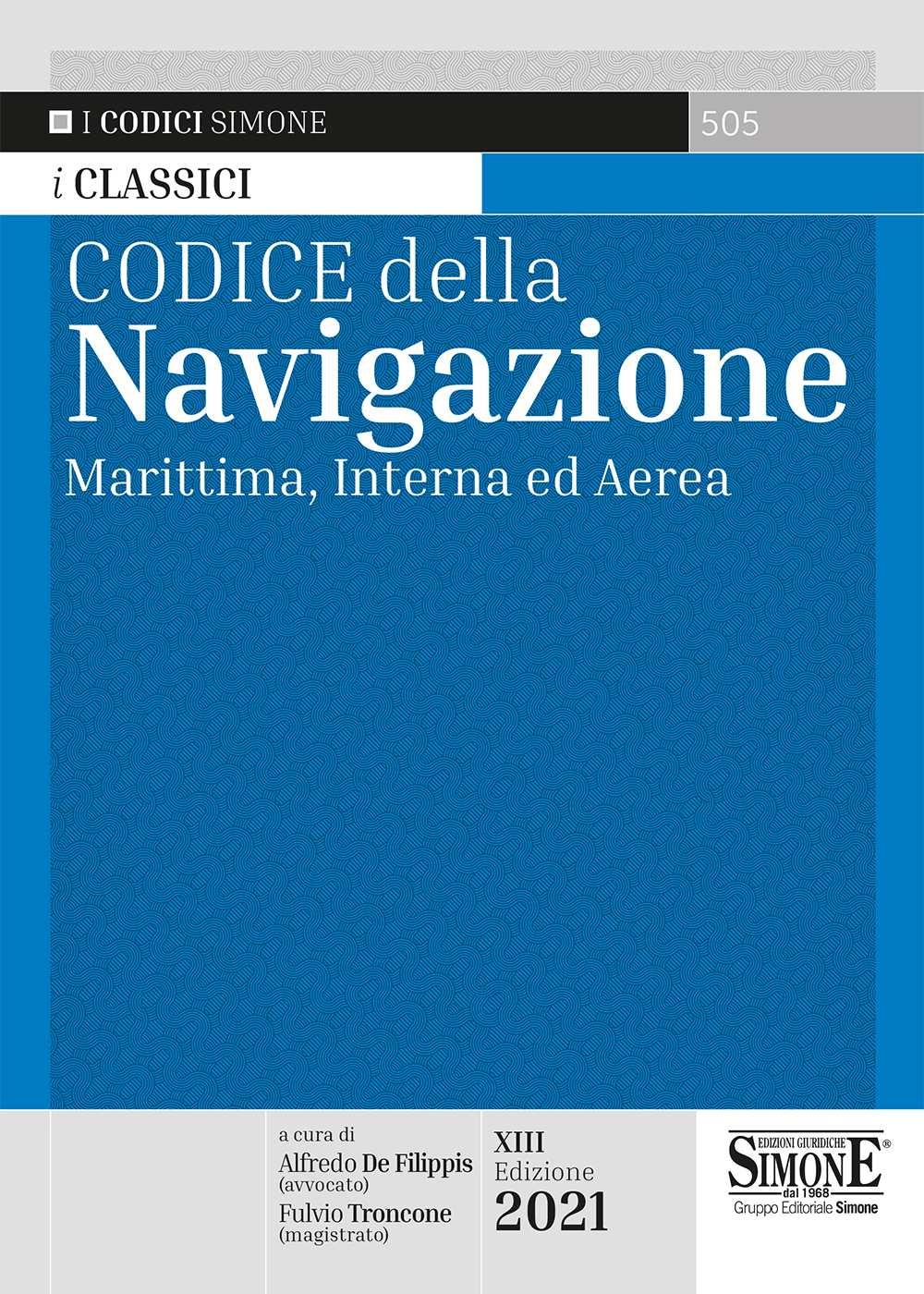 Codice della navigazione aggiornato 2021
