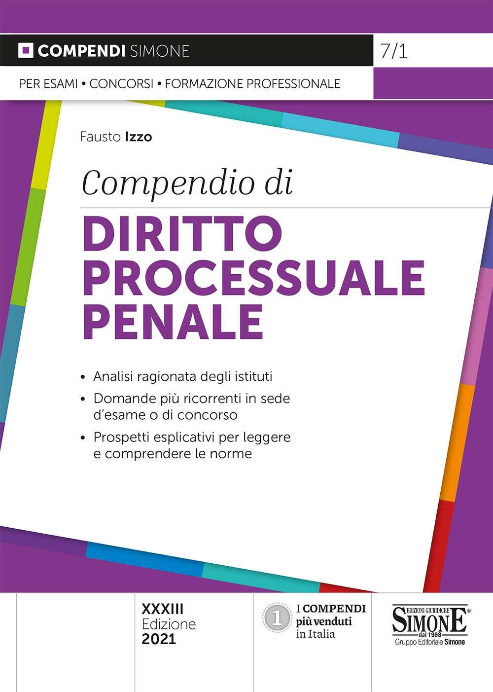 Compendio Diritto Processuale Penale