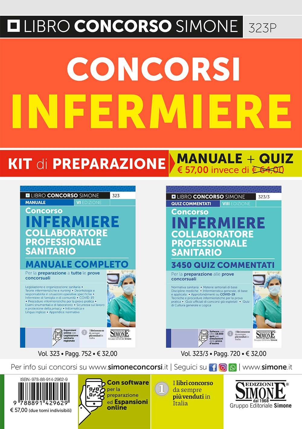 Kit Concorsi Infermiere