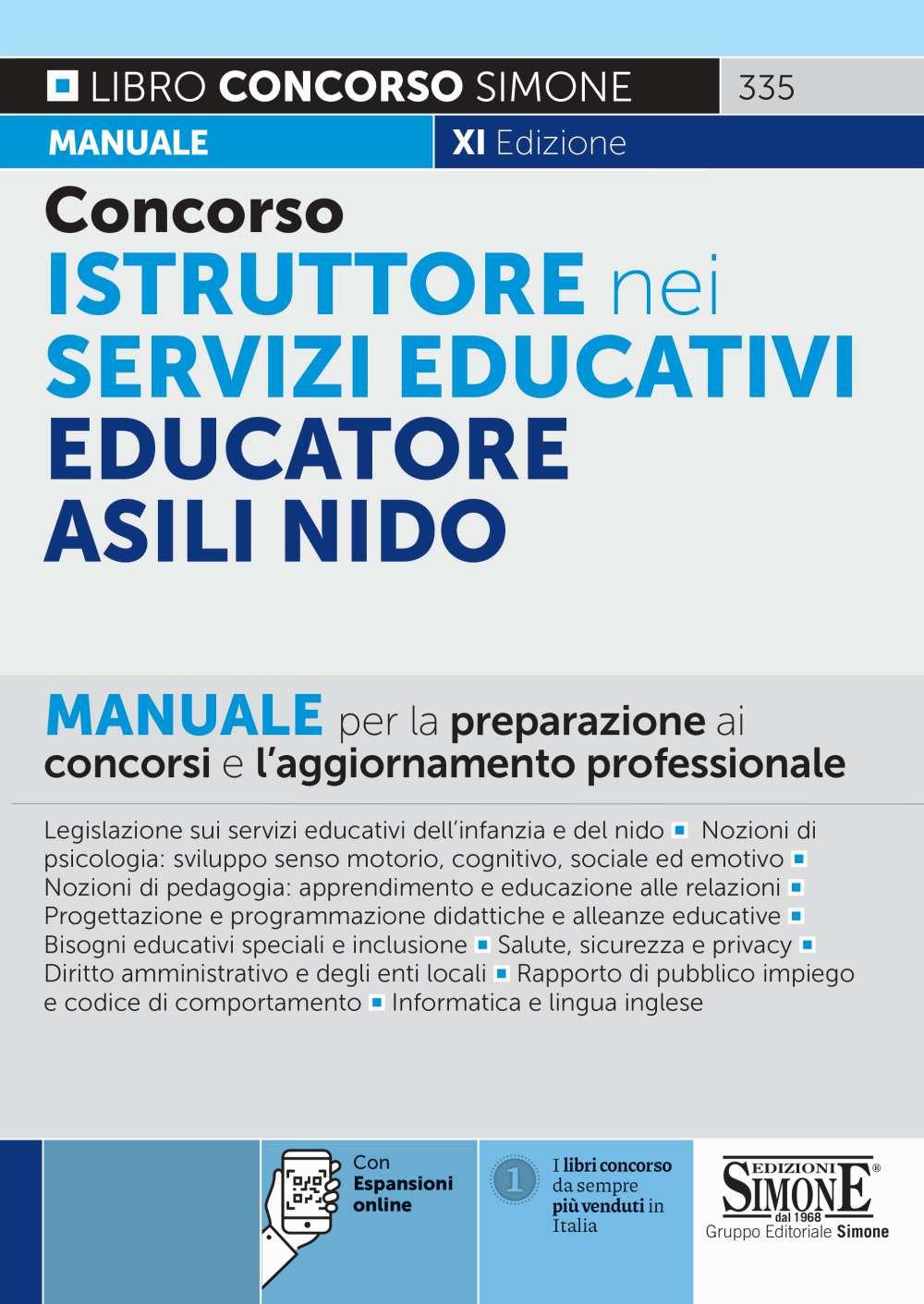 Concorso Istruttore nei servizi educativi