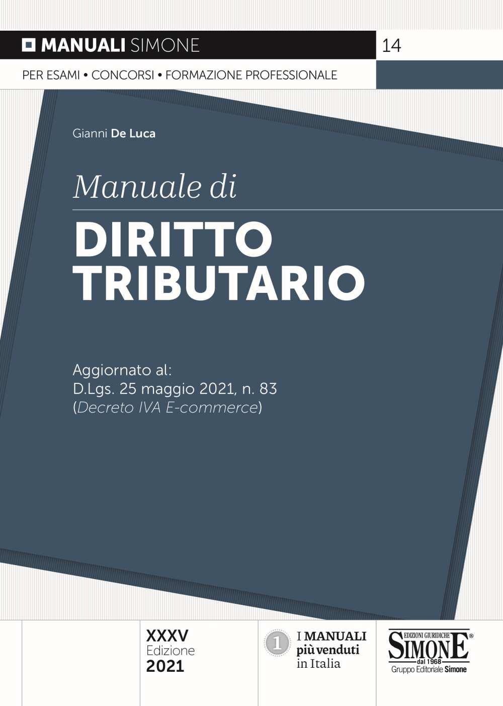 Manuale di Diritto tributario 2021