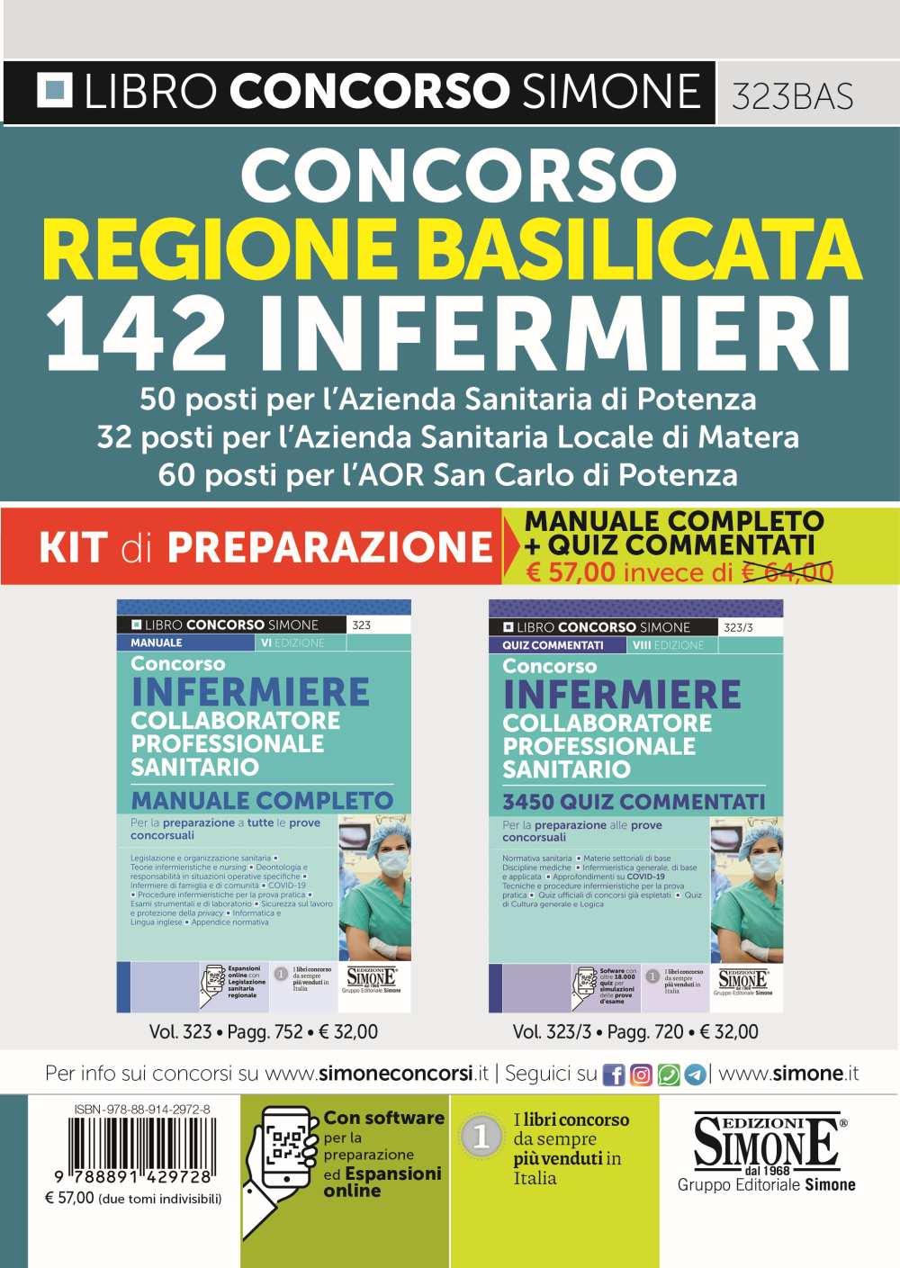 Concorso Infermieri Regione Basilicata