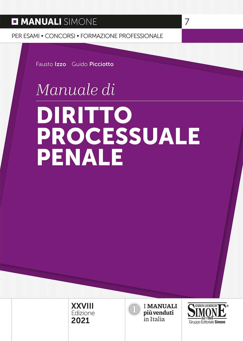 Manuale Diritto Processuale Penale