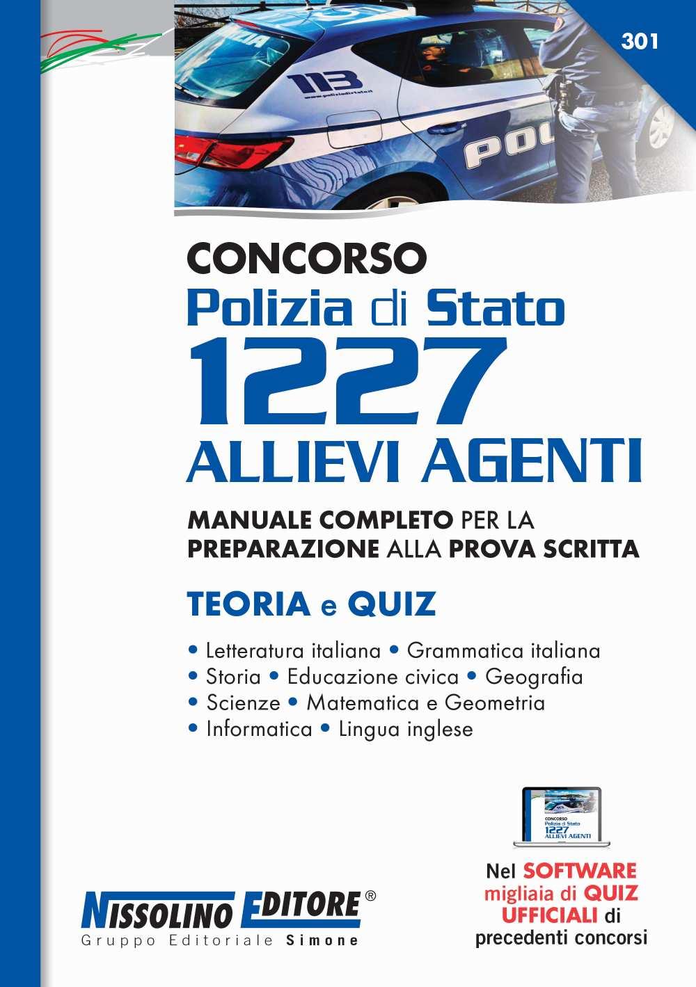 manuale Concorso Polizia di Stato