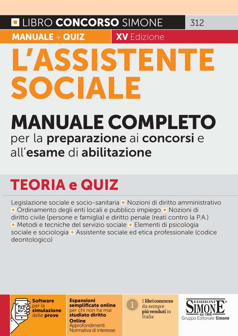 manuale Assistente sociale