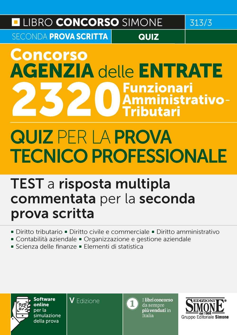 Concorso Agenzia delle Entrate per 2320 Funzionari
