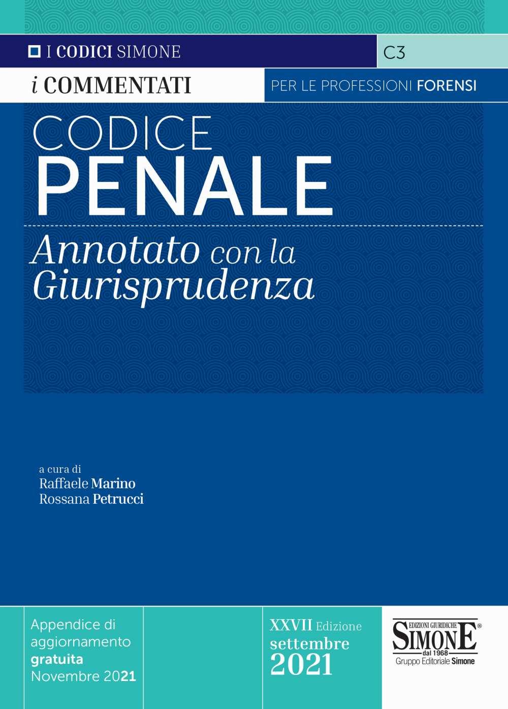 Codice Penale commentato 2021
