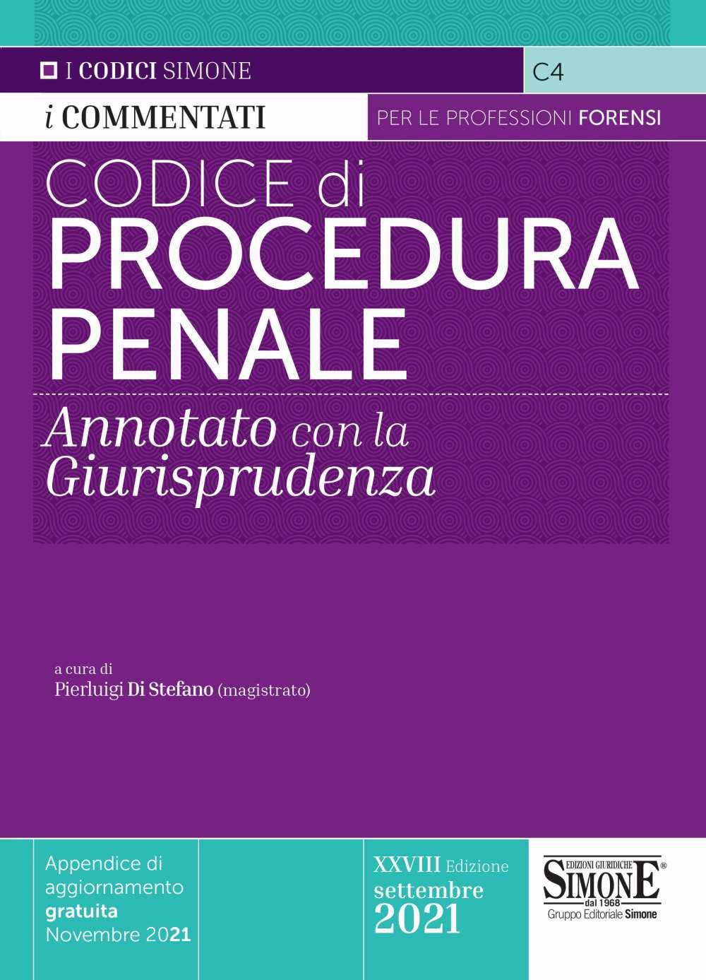 Codice di Procedura Penale commentato