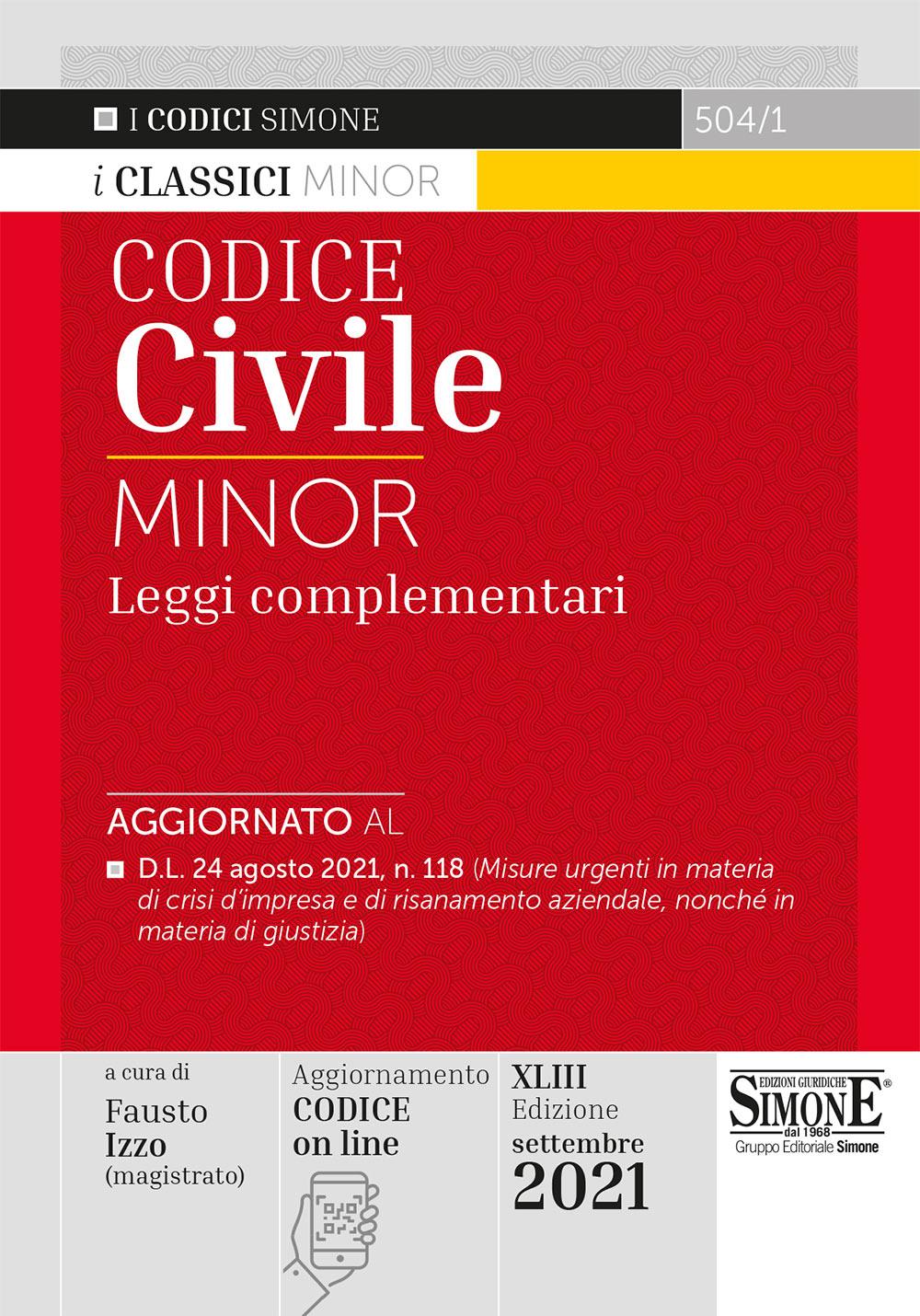 Codice Civile Minor 2021