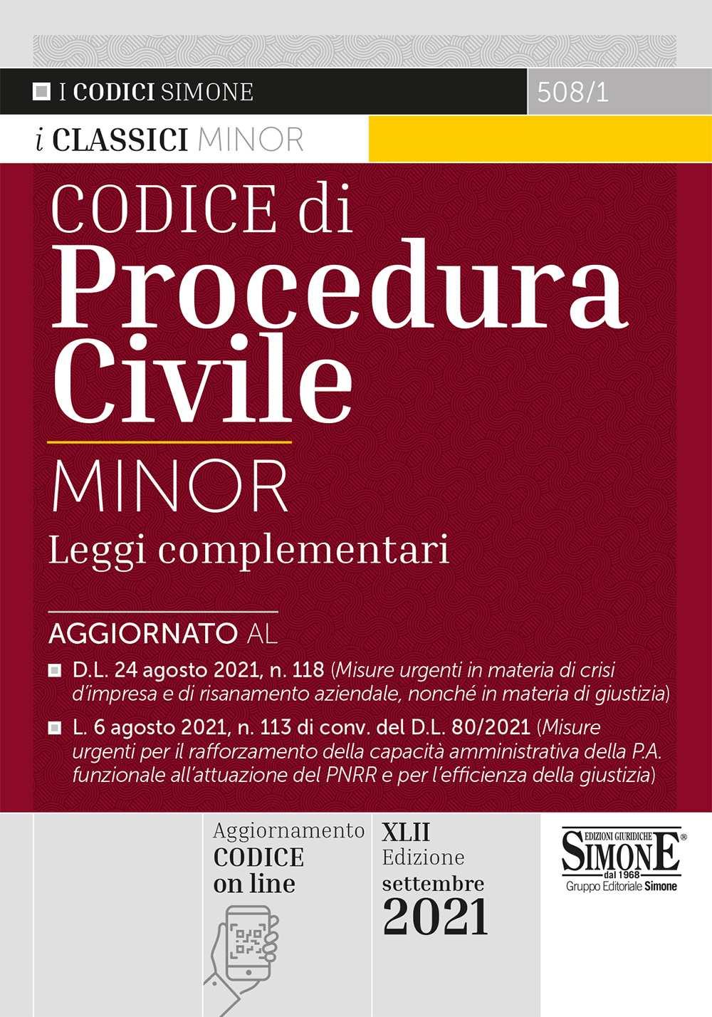 Codice di Procedura Civile Minor
