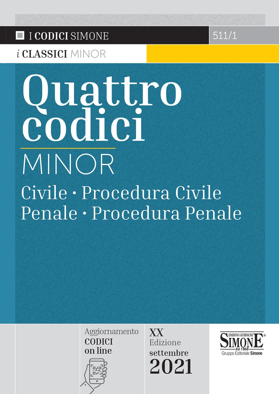 Quattro Codici Minor 2021