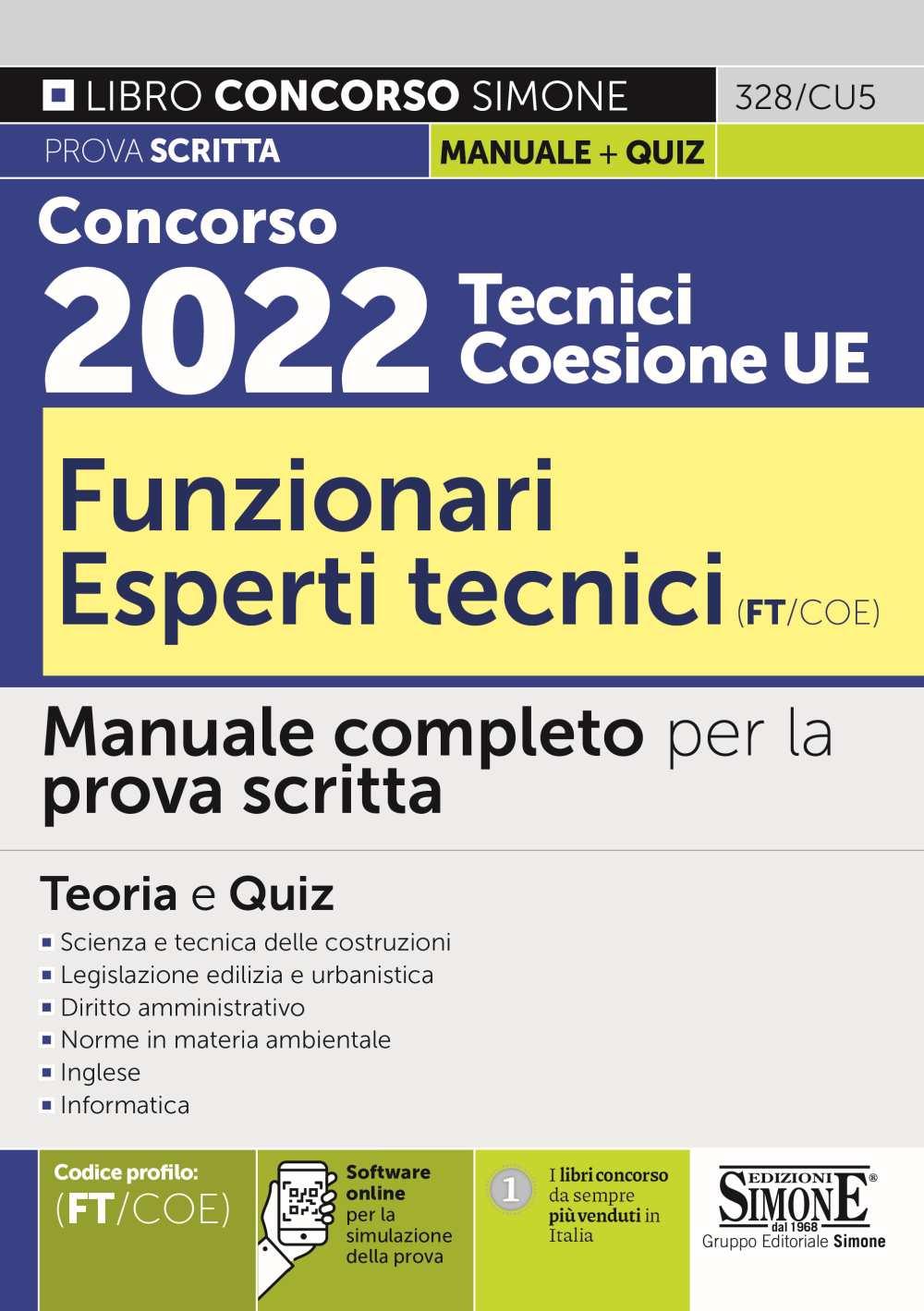 prova scritta del Concorso 2022