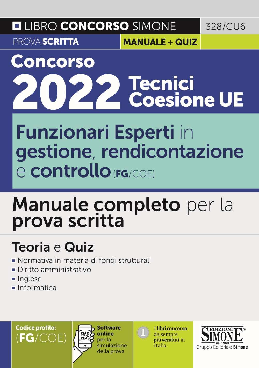 Concorso Ripam 2022 Tecnici Manuale